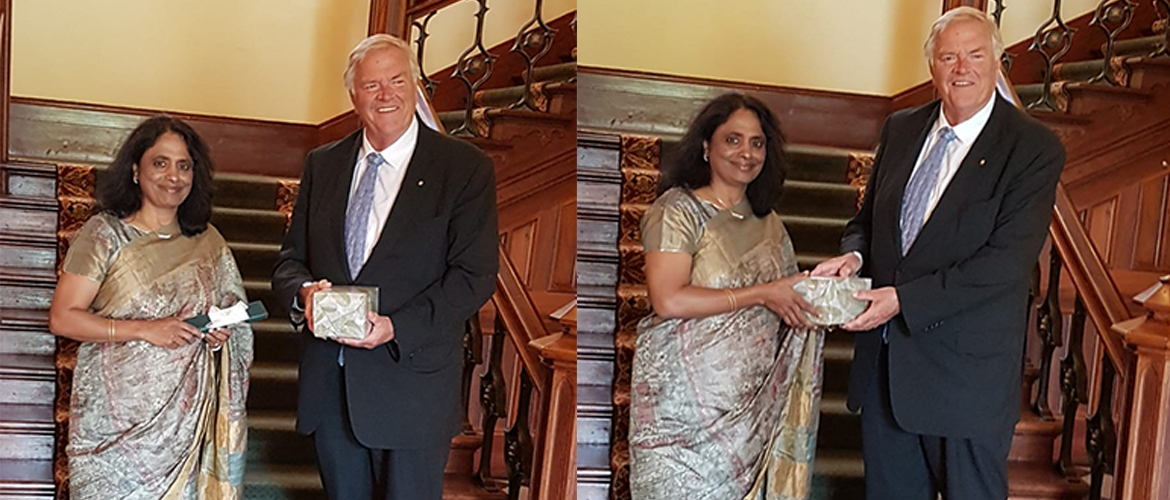 Consul General call on Governor of Western Australia the Honourable Kim Beazley AC