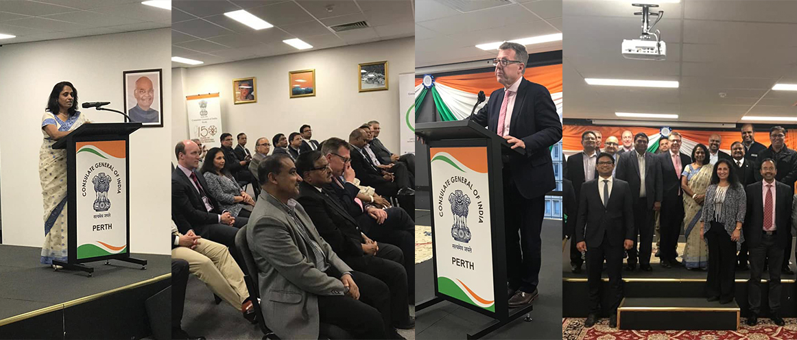 First official interaction of Consul General with Business community of Perth