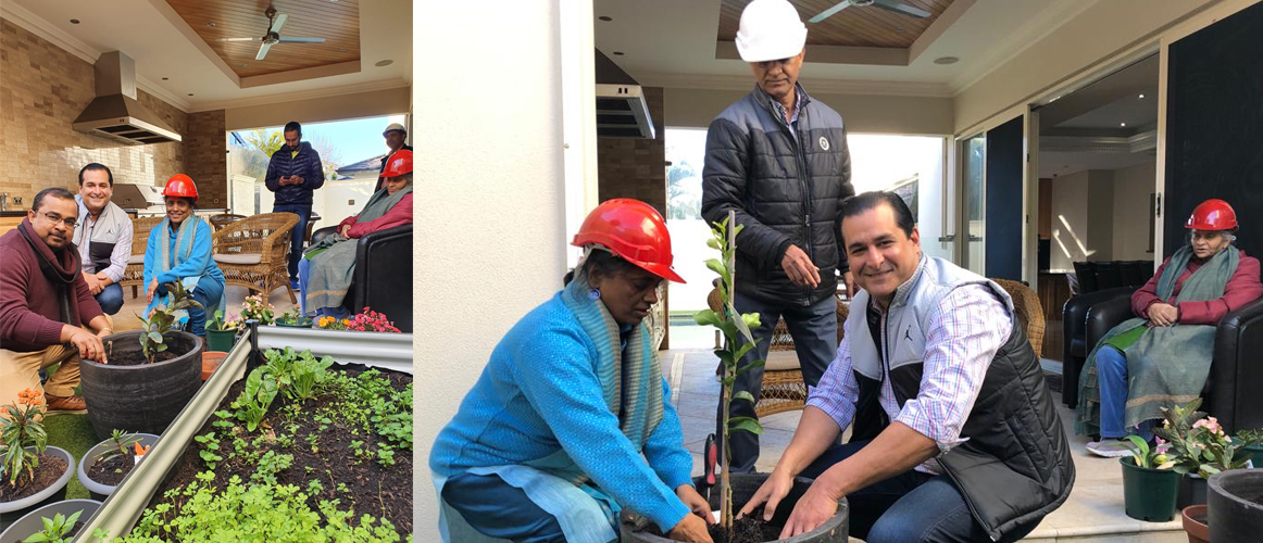 SPHEEHA International Tree Plantation drives at Consul General's residence