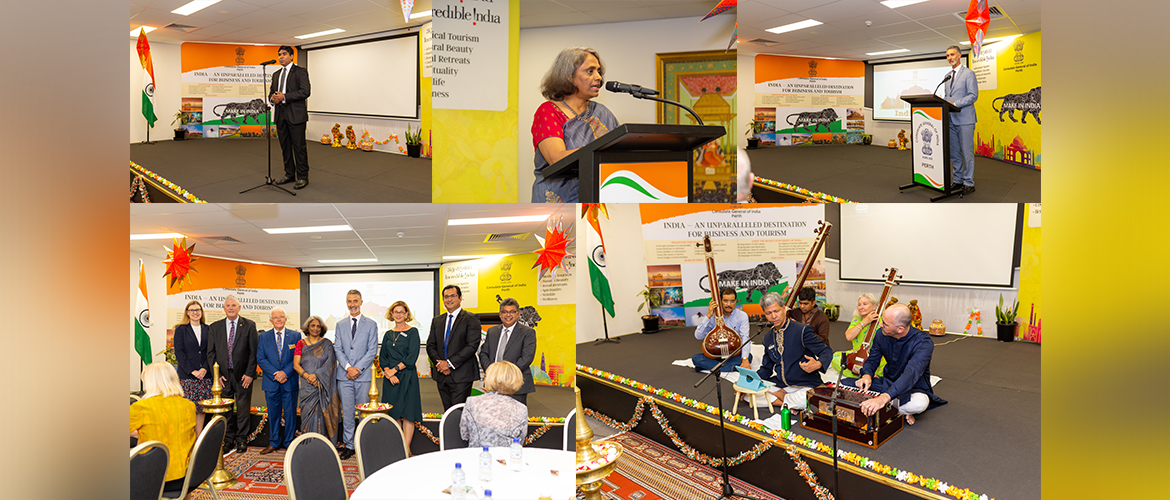 Launch of India@75 Celebrations at Consulate