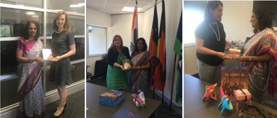 Consul General met Ms Kate Walker