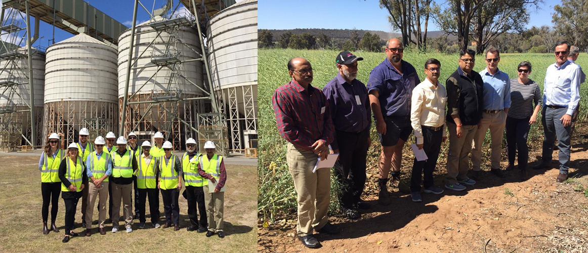 An Indian Agriculture (Plant Protection) delegation visited Perth from 13 -15 October 2019