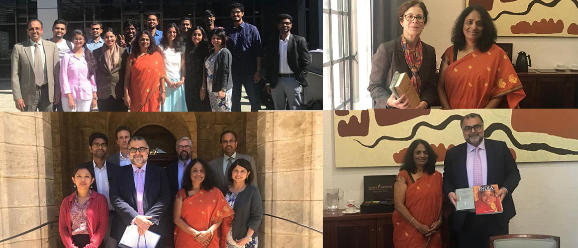 Consul General paid a visit to University of WA, met Vice Chancellor, Faculties and Students.