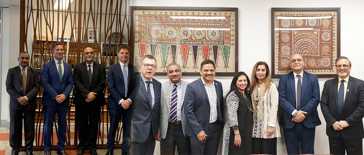 Mr Anil Kaul, Regional Manager Australasia, Air India visit to Perth in connection with establishment of direct flights between Perth and India