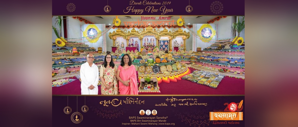 Consul General participated in Diwali and New Year celebrations organised by BAPS Swaminarayan Sanstha, Perth