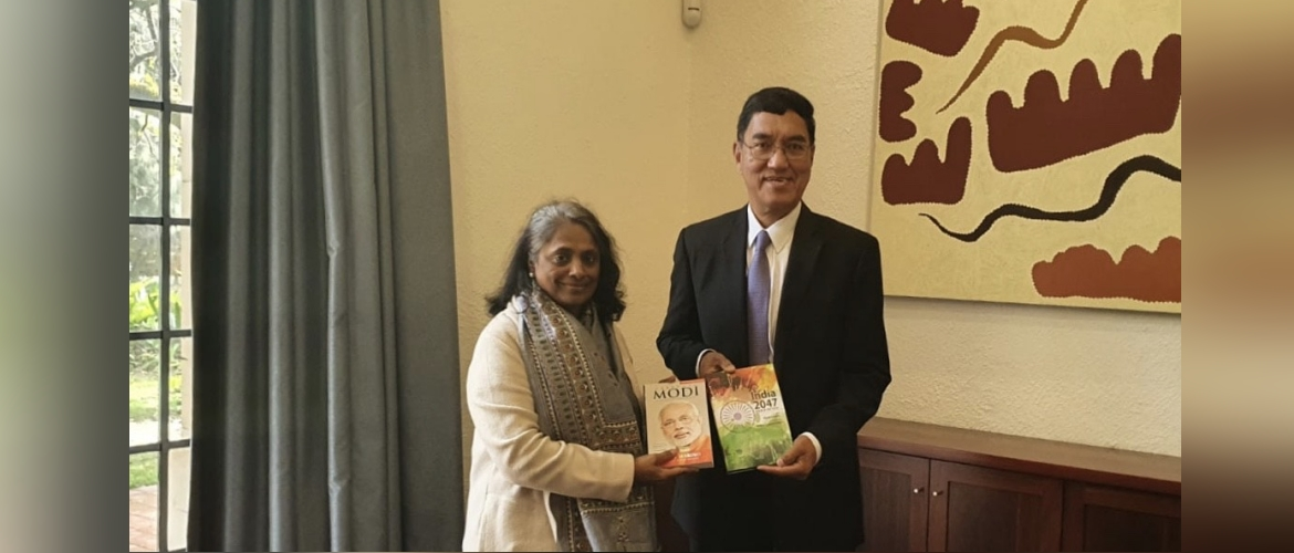 Consul General with Prof Amit Chakma, Vice Chancellor, University of Western Australia