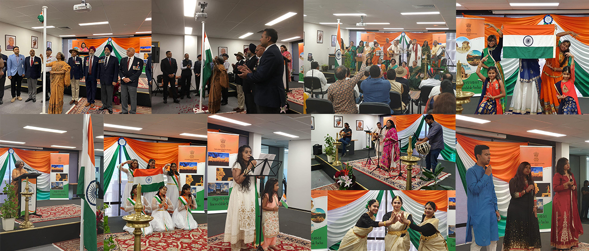 72nd Republic Day Celebrations at Consulate