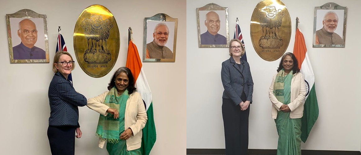 Consul General with Ms Sarah Hooper, State Director, Western Australia State Office - DFAT