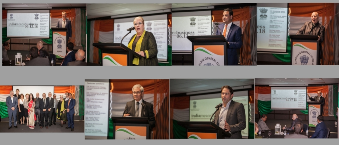 India – WA Business and Tourism Promotion Forum, December 2018